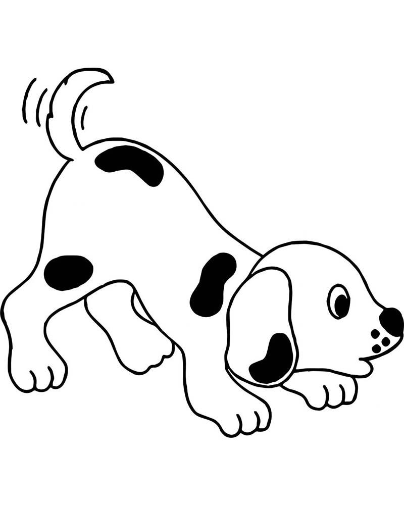 Dibujos faciles de perros