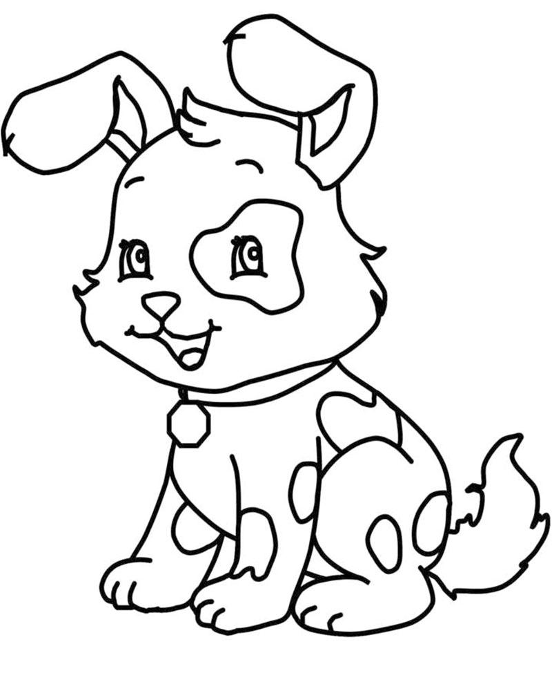imagenes dibujos de perros faciles de dibujar