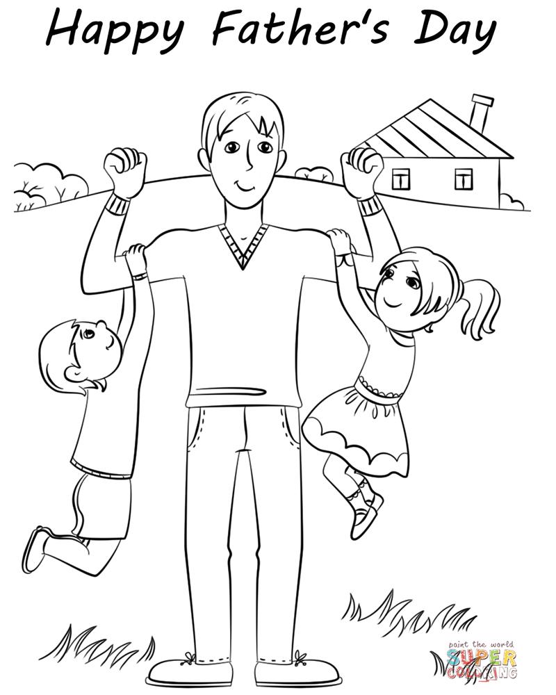 Dibujos para el dia del padre faciles y bonitos