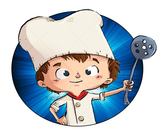 child cook cooking