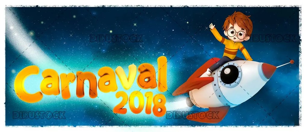 Child in carnival 2018