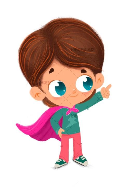 super hero boy