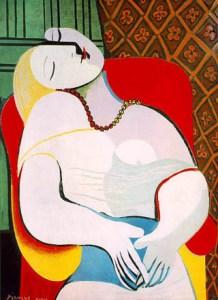 Le rêve - Picasso 1932