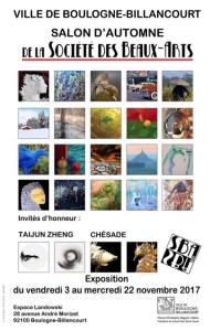 Salon d'automne de la societe des beaux-arts de Boulogne-billancourt