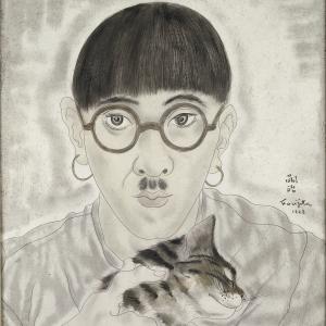 Foujita Autoportrait