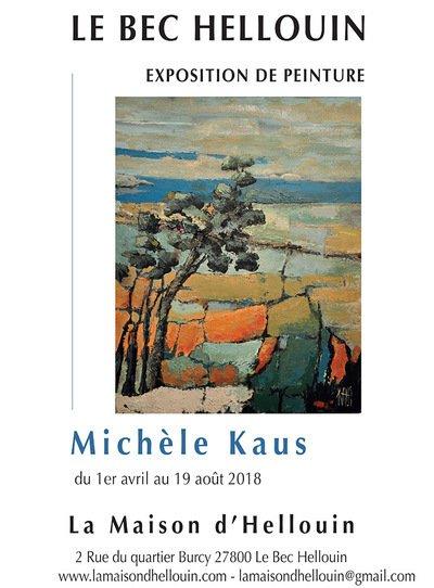 Exposition de Peinture 'Matière' Michèle Kaus