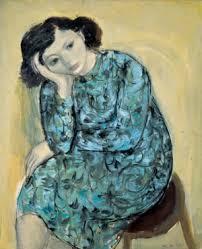 Portrait de ma femme - Zao Wou Ki - 1949