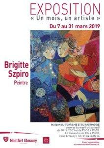 Brigitte Szpiro-un mois un artiste