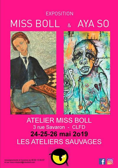 Aya So chez Miss Boll - Les Ateliers Sauvages 2019