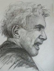 Dessins au fusain et crayon