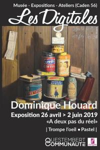 Dominique Houard - Trompe l'oeil/Pastel