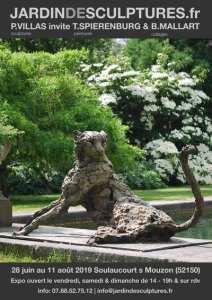 Jardin de Sculptures: Expo Villas, Mallart et Spierenburg