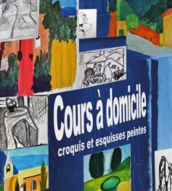 Croquis et Esquisses Peintes (Cours à Domicile).