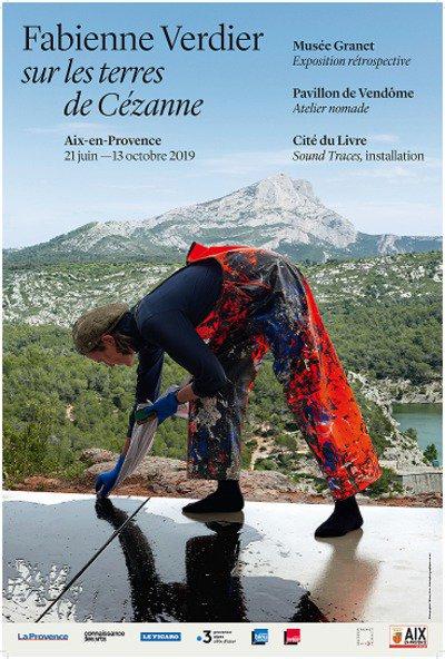 Fabienne Verdier Sur les terres de Cézanne Atelier nomade