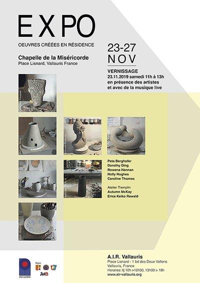 EXPO: Œuvres créées en résidence/ Works created in residence