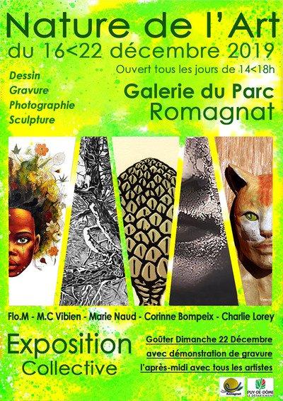 EXPOSITION LA NATURE DE L'ART