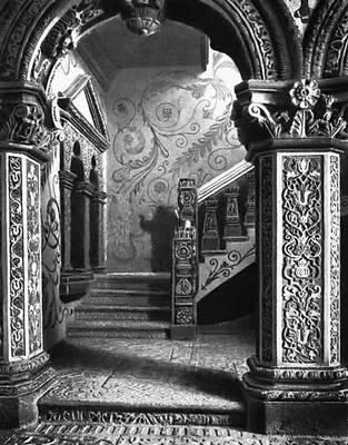 Лестничная пристройка Теремного дворца в Московском Кремле. 1637.