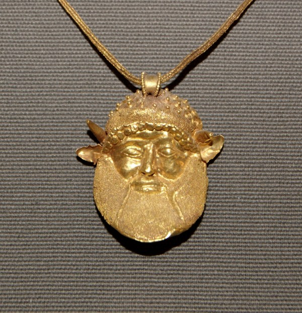 Ancient Etruscan Jewelry Necklace
