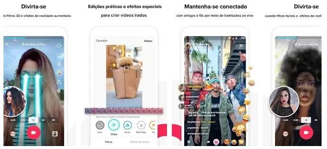 telas app Tiktok