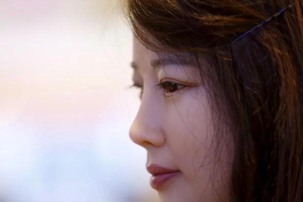 JiaJia a Robô Repórter chinesa exibida em 2016: Foto Reuters/Aly Song