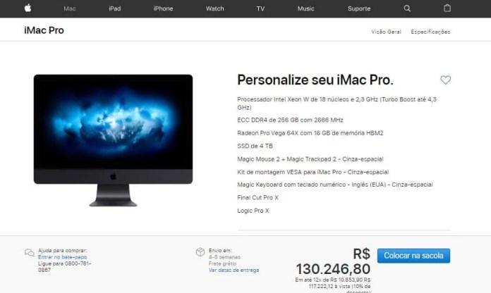 iMac Pro configuração máxima- Dica App do Dia
