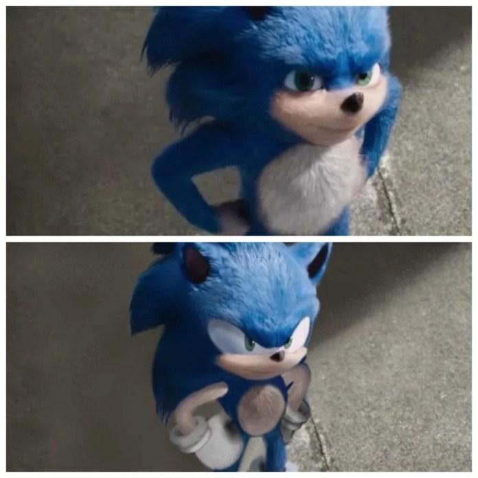 mais um exemplo de como deveria ser o Sonic na Live Action