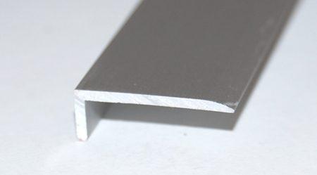 Ángulo 20 x 8 aluminio plata