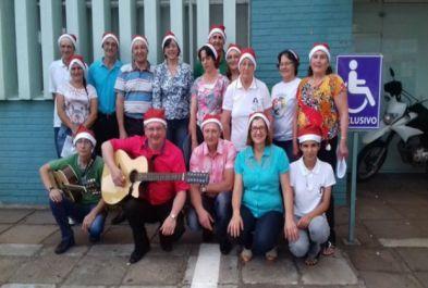 Cantata de natal em família
