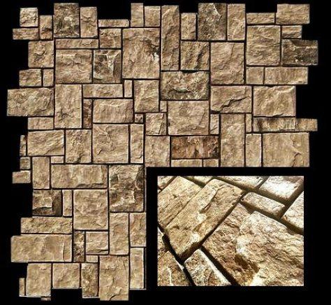 painel que imita pedra - texturise mosaico