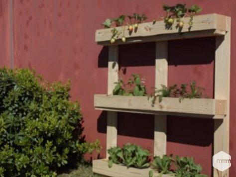 jardineira de pallet - meumoveldemadeira