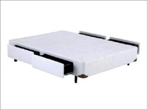 cama box com gavetas - walmart