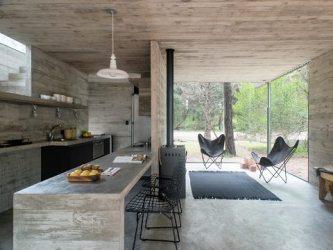 casa pequena moderna uma