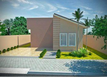 Fachadas de Casas Pequenas: 50 Ideias Dicas e Projetos incríveis! Dicas Decor