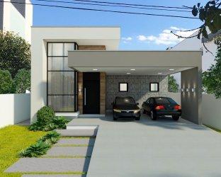 Fachada de Casas Modernas: 60 inspirações para você! Dicas Decor