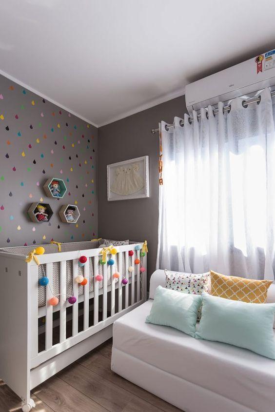 Quartos de Bebe Decorados Dicas e Modelos