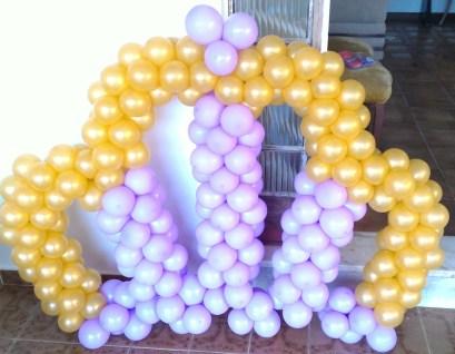 Coroa de balões