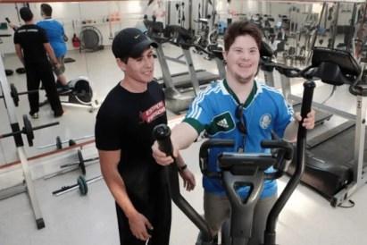 Resultado de imagem para musculação deficiente