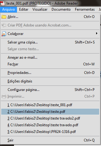 Como proteger seus arquivos PDF contra cópia ou impressão indesejada (4/4)