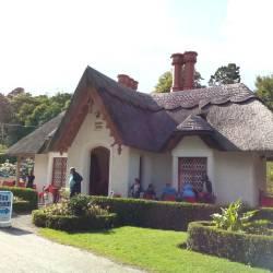 Casa de chá perto da saída do Killarney National Park