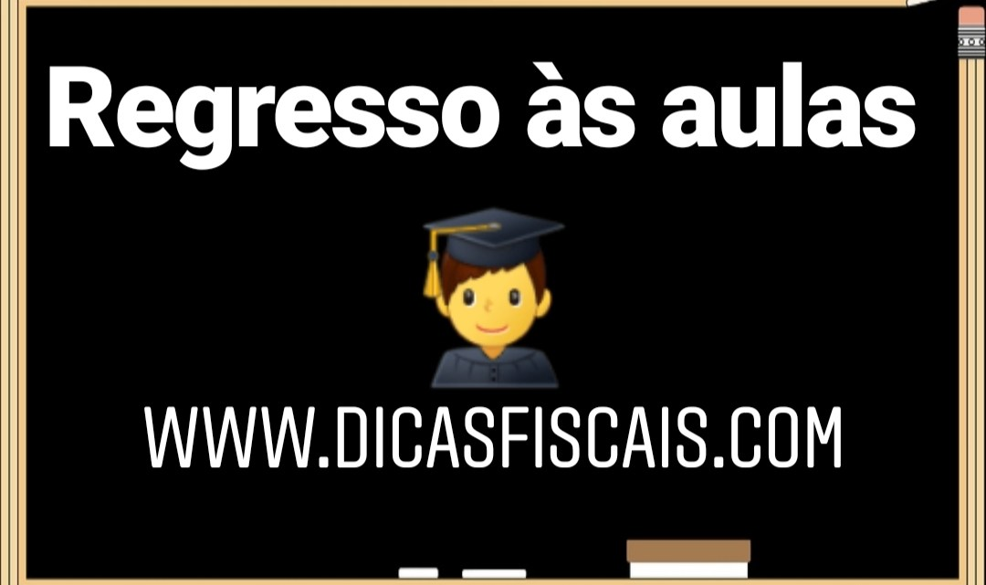 O Regresso à escola e o IRS