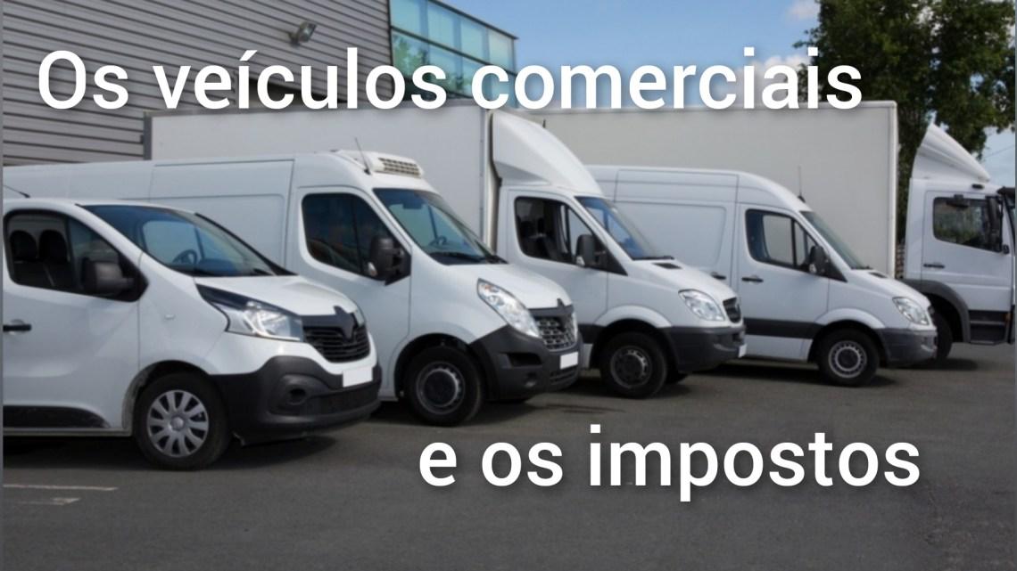 Os veículos comerciais e os impostos