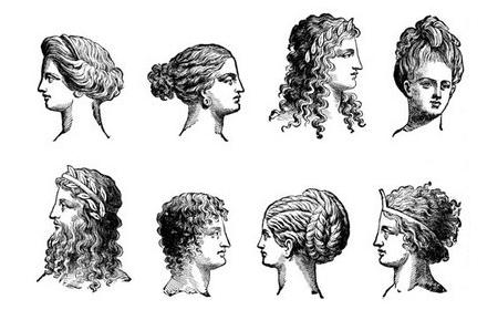 Roupas E Penteados Da Roma Antiga