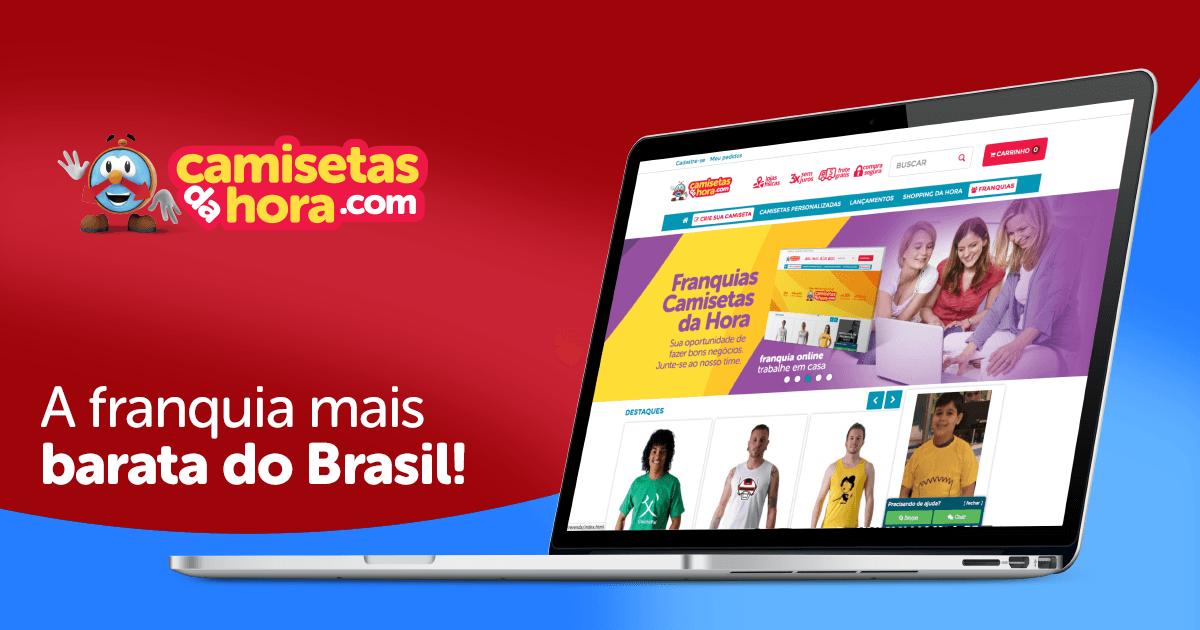 Franquia mais barata do Brasil