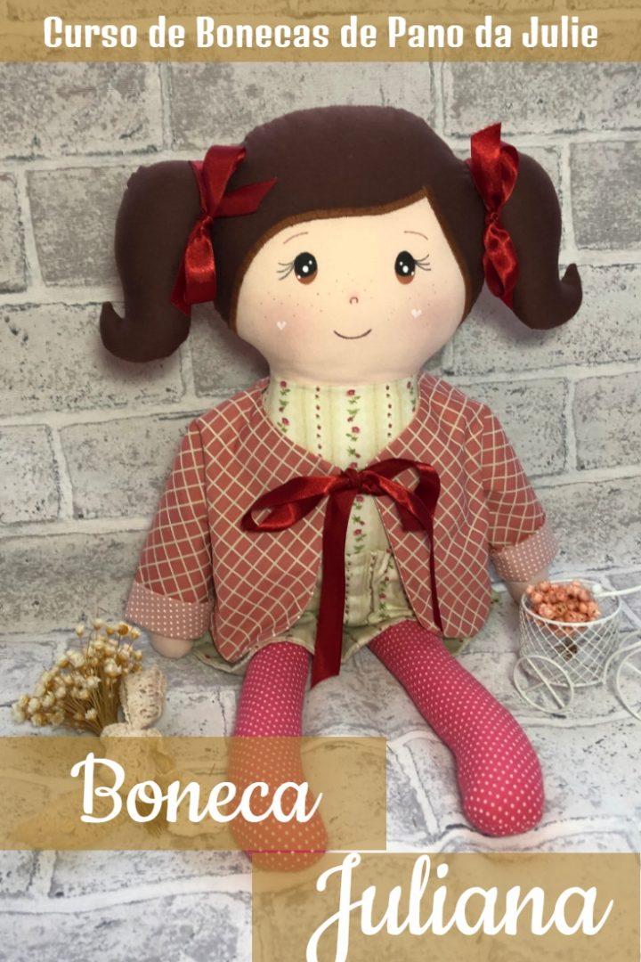 Boneca de Pano - Juliana