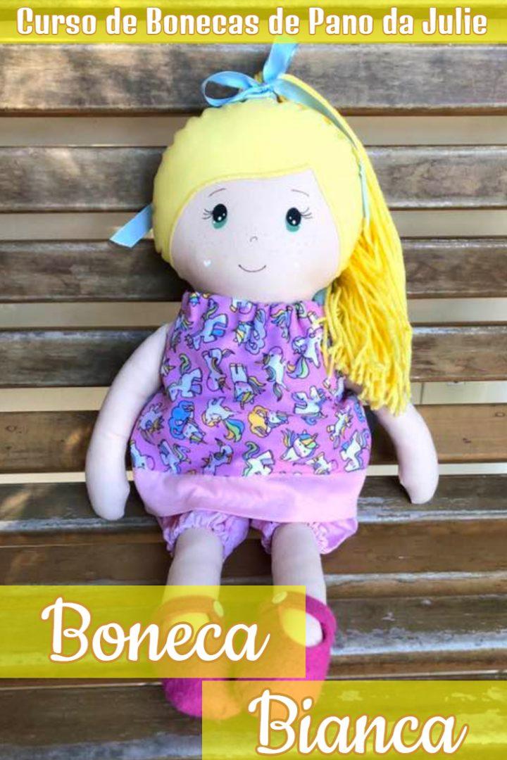Boneca de Pano - Bianca