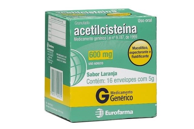 acetilcisteina-bula-para-que-serve-como-tomar-e-preco-1 Acetilcisteína: para que serve, como tomar e preço