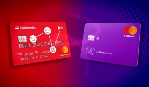 Nubank ou Santander free, qual tem mais benefícios
