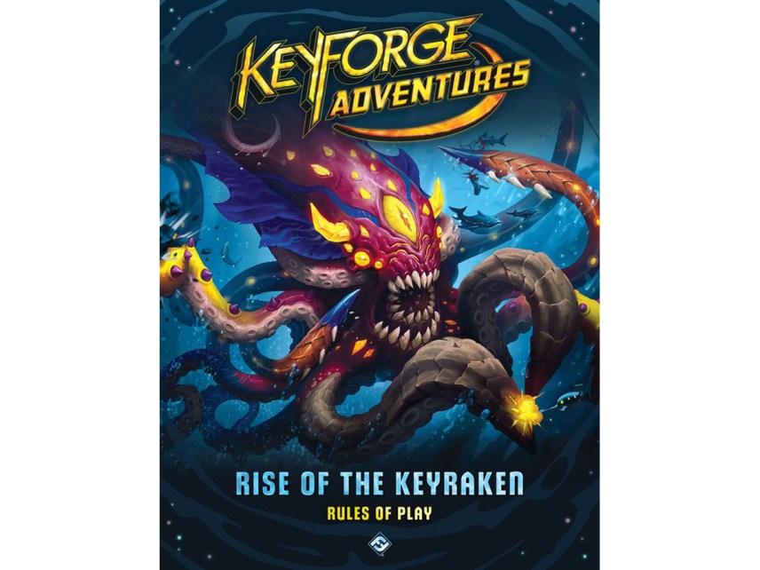 KEYFORGE ADVENTURES: RISE OF THE KEYRAKEN