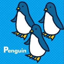 動物イラストシリーズ7 ペンギン