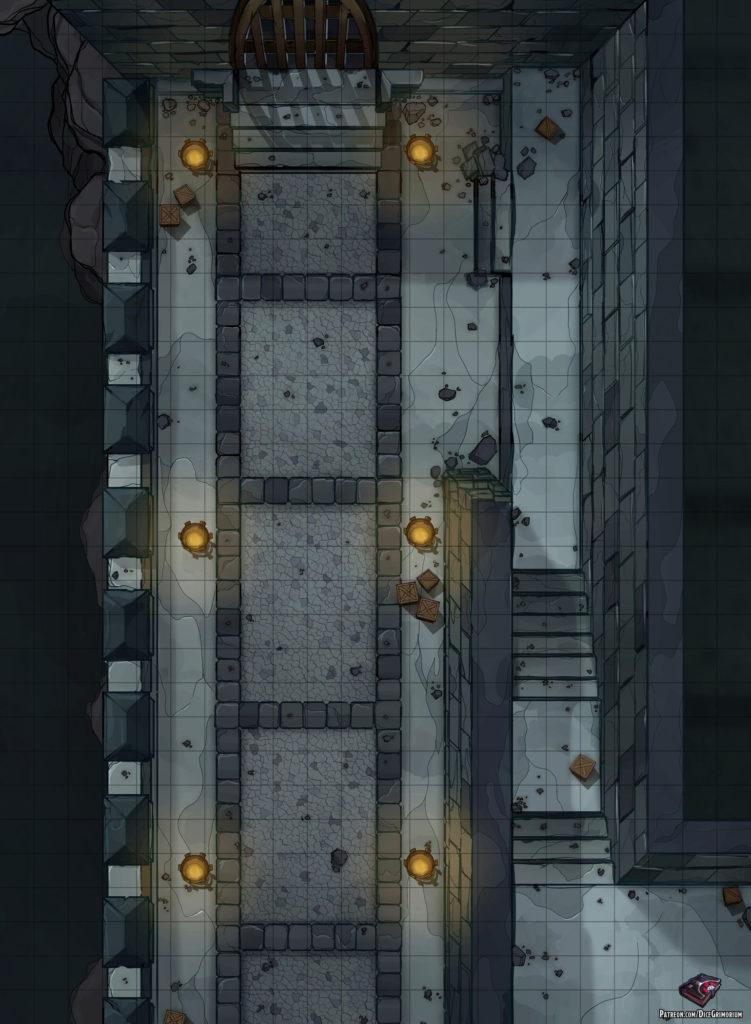 Dnd Castle Map : castle, Castle, Roll20, Tabletop, Grimorium